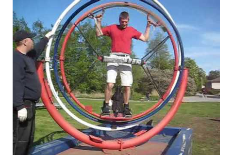 Riding a Gyroscope - YouTube