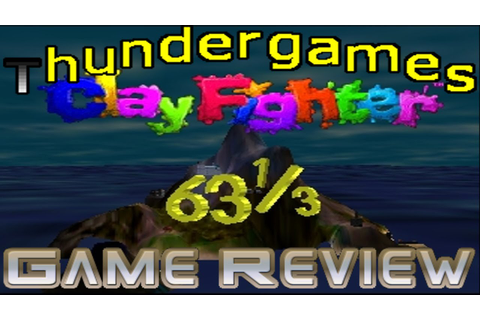 Thundergames Game Review - Clayfighter 63 1/3 - YouTube