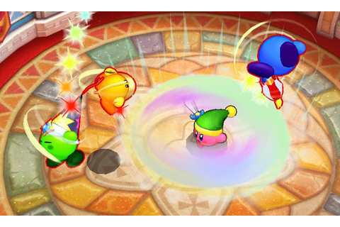 SuperPhillip Central: Kirby Battle Royale (3DS) Review