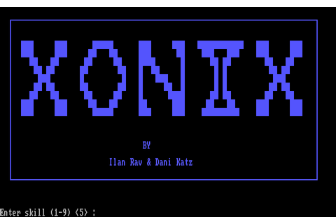 Download Xonix - My Abandonware