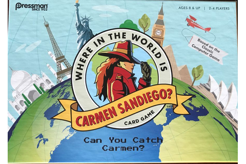 Where in the World is Carmen Sandiego? Card Game (One ...