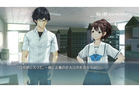 Robotics;Notes has new anime, updated 3D models on PS Vita ...