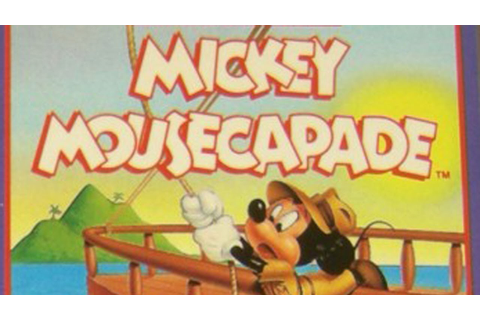 CGRundertow MICKEY MOUSECAPADE for NES Video Game Review ...