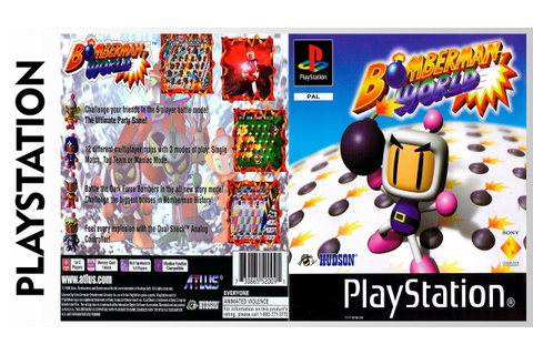 Bomberman World (PLAYSTATION) - YouTube