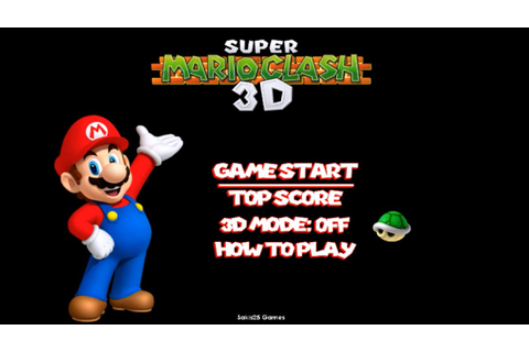 Super Mario Clash 3D: Gameplay Video [ No Commentary ...