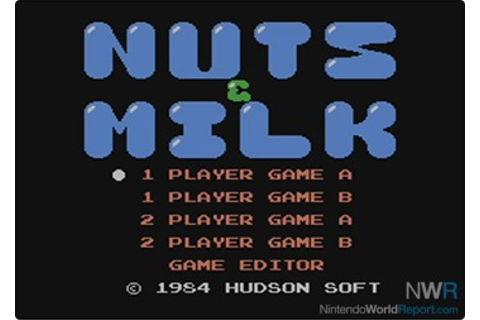 Nuts & Milk - Game - Nintendo World Report