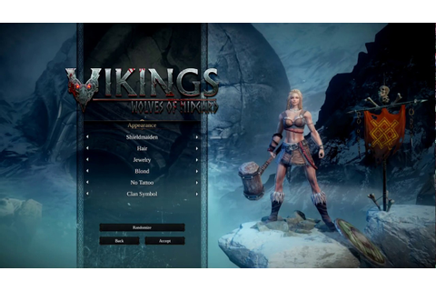 Vikings: Wolves of Midgard / Female Character Creation ...
