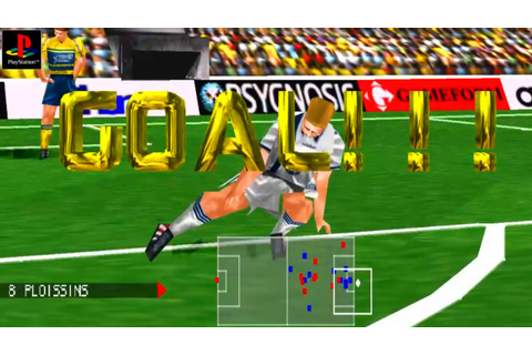 Adidas Power Soccer 98 - Gameplay PSX / PS1 / PS One / HD ...