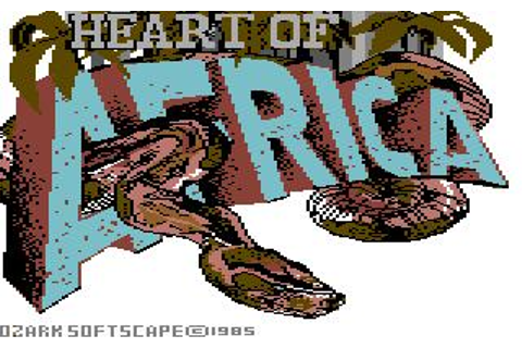Heart of Africa Download (1985 Strategy Game)