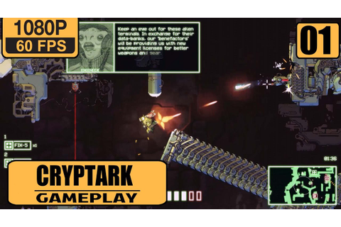 CRYPTARK gameplay walkthrough - Part 1 Envoy - YouTube