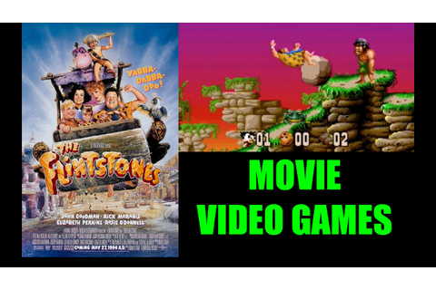 The Flintstones: Movie Video Games - YouTube