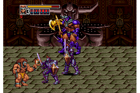 Golden Axe III/The Castle — StrategyWiki, the video game ...