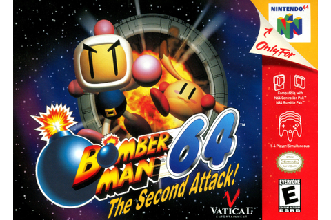 Bomberman 64 the Second Attack Nintendo 64 Game