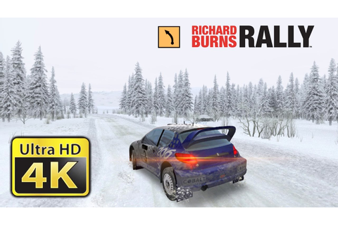 Richard Burns Rally : Old Games in 4K - YouTube