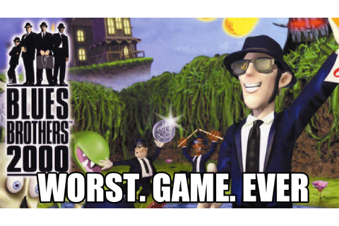 Blues Brothers 2000 (N64) | Worst Game Ever - YouTube