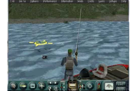 Trophy Bass 4 by Sierra Anno 2000 Preview and Gameplay ...