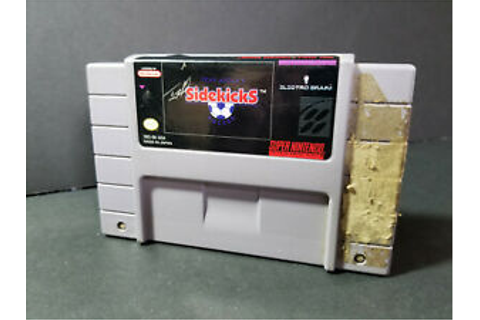 Tony Meolas SIDEKICKS SOCCER Super Nintendo SNES Authentic ...