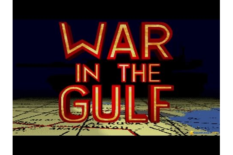 War in the Gulf gameplay (PC Game, 1993) - YouTube