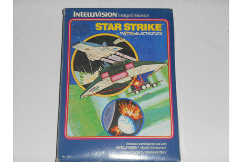1981 STAR STRIKE Intellivision Video Game Complete