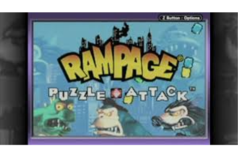 Rampage - Puzzle Attack | Gbafun is a website let you play ...