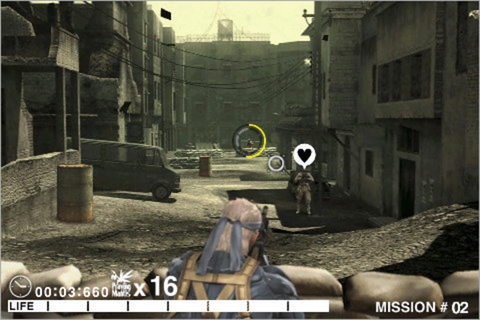 Metal Gear Solid Touch for iPhone - Download