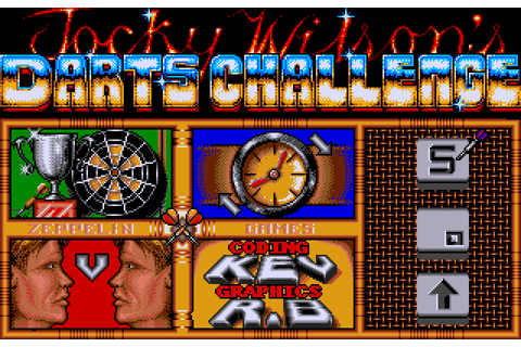 Jocky Wilson's Darts Challenge on Qwant Games