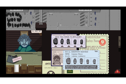Papers, Please And Morality - Right Choice? | The Arcade