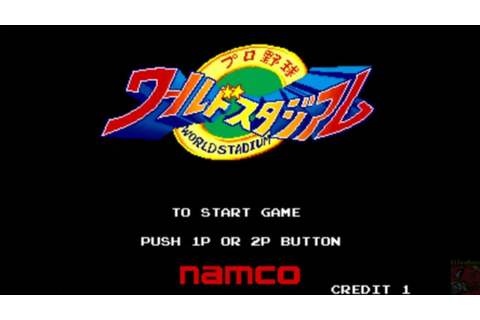 Pro Yakyū World Stadium '90 [MAME] 11-0 Win ⚾ - YouTube