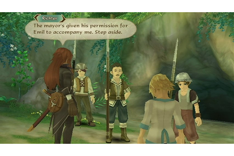 Tales of Symphonia: Dawn Of The New World (Wii) Screenshots