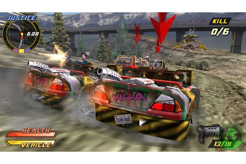 Pursuit Force: Extreme Justice Screenshots, Pictures ...