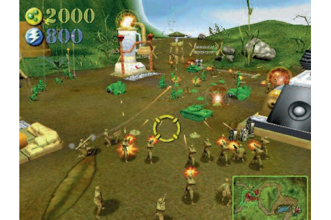 Army Men RTS Sony Playstation 2 Game