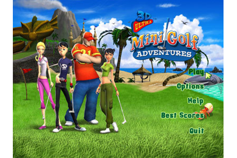 Full 3D Ultra Minigolf Adventures version for Windows.
