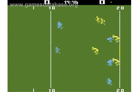 RealSports Football - Atari 2600 - Games Database