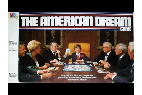 Ep. 104: The American Dream Board Game Review (Milton ...
