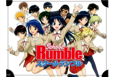 School Rumble RP : Out of Character