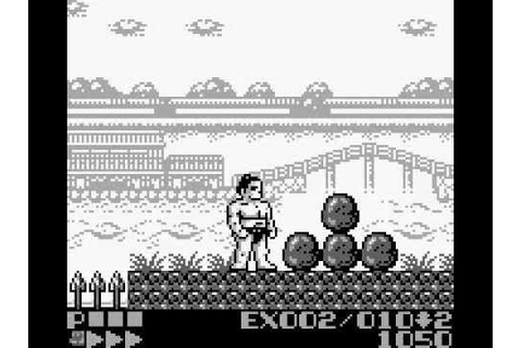 Sumo Fighter - GameBoy - YouTube