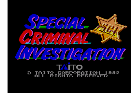 Special Criminal Investigation Download Game | GameFabrique
