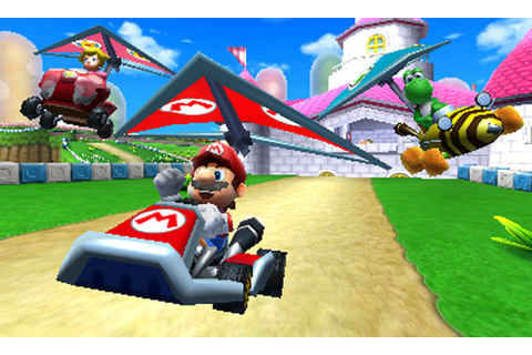 Review: 3DS Mario Kart 7 drives cautiously | Ars Technica