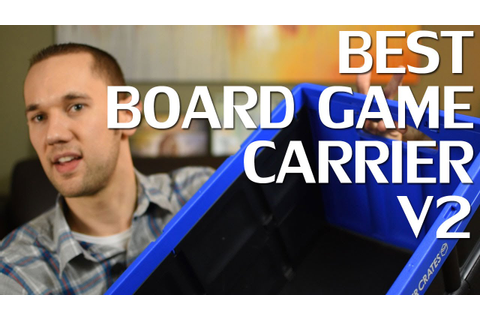 Best Board Game Carrier v2! - YouTube