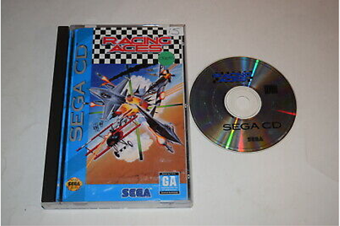 Racing Aces Sega CD Video Game Complete Worn Case ...