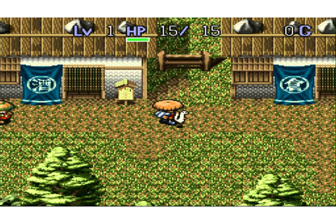 Mystery Dungeon 2 - Shiren The Wanderer PART 1/2 - SNES ...