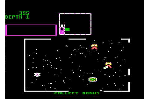 Game review: Atari Space Dungeon for #Atari 5200
