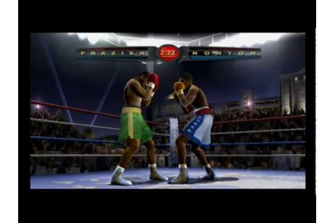 Fight Night 2004 Ps2 Gameplay - YouTube