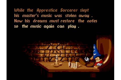 Mickey Mouse - Fantasia Download Game | GameFabrique