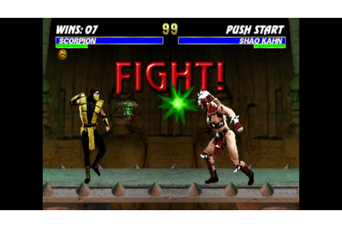 Fighting Game Bosses 29. Ultimate Mortal Kombat 3 - Shao ...