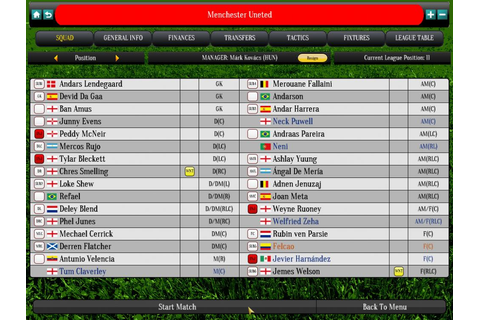 Global Soccer Manager - Buy and download on GamersGate