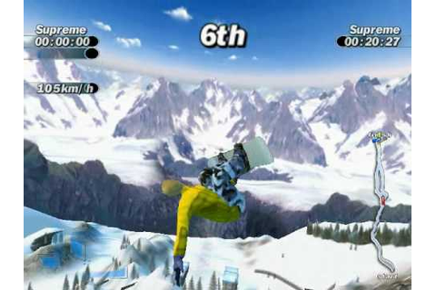 Supreme Snowboarding (Boarder Zone) PC Game : My very best ...