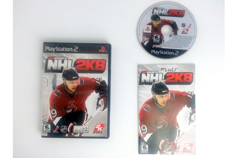 NHL 2K8 game for Playstation 2 (Complete) | The Game Guy