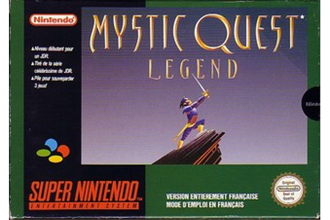 Mystic Quest Legend Fiche RPG (reviews, previews ...