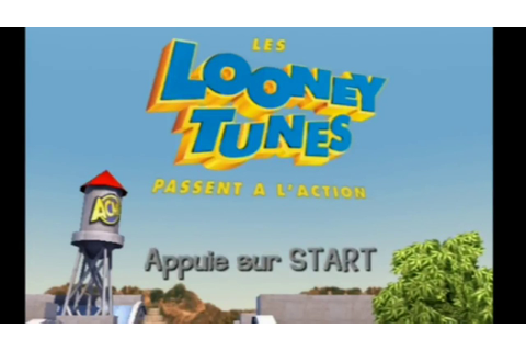 "[Ps2] Introduction du jeu ""Les Looney Tunes Passent à l ..."